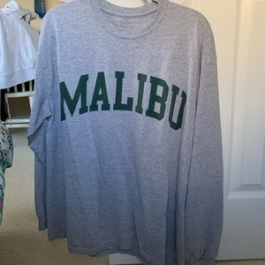 Brandy Melville Tops - Long sleeve oversized T-shirt